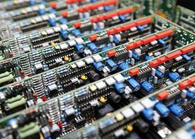 Opslag van Powerboard PCB in assemblage