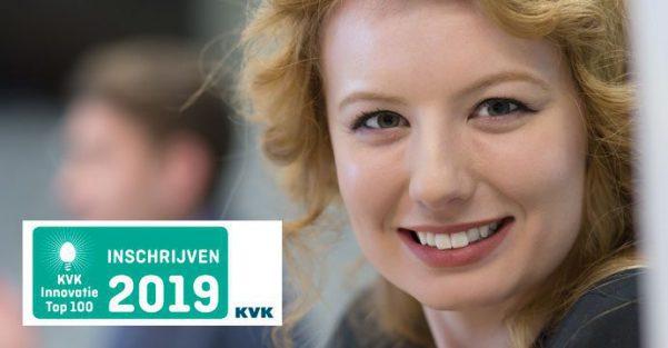 KVK Innovatie TOP 100, schrijf je in voor de 14e editie
