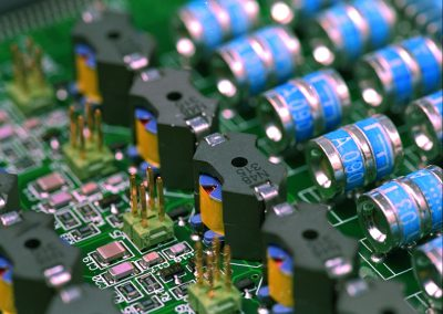 Mix PCBA with THT and SMT components